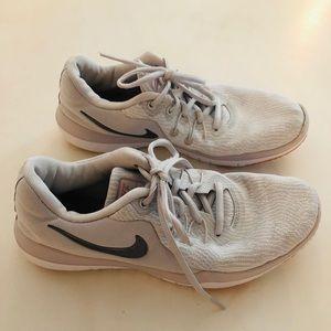 Nike Flex Supreme TR6 White Training Shoes size 8